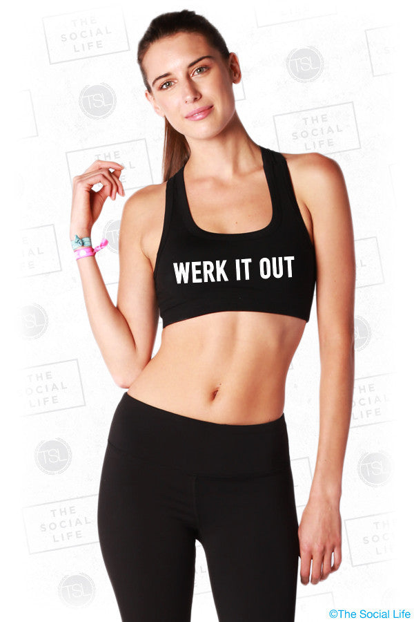 Werk It Sports Bra