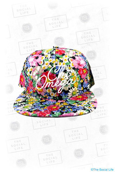 ChiO Floral Snapback