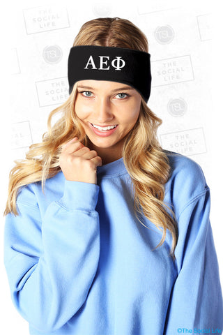 AEPhi - Fleece Headband