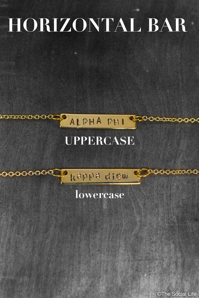 Alpha Delta Pi Custom Necklace