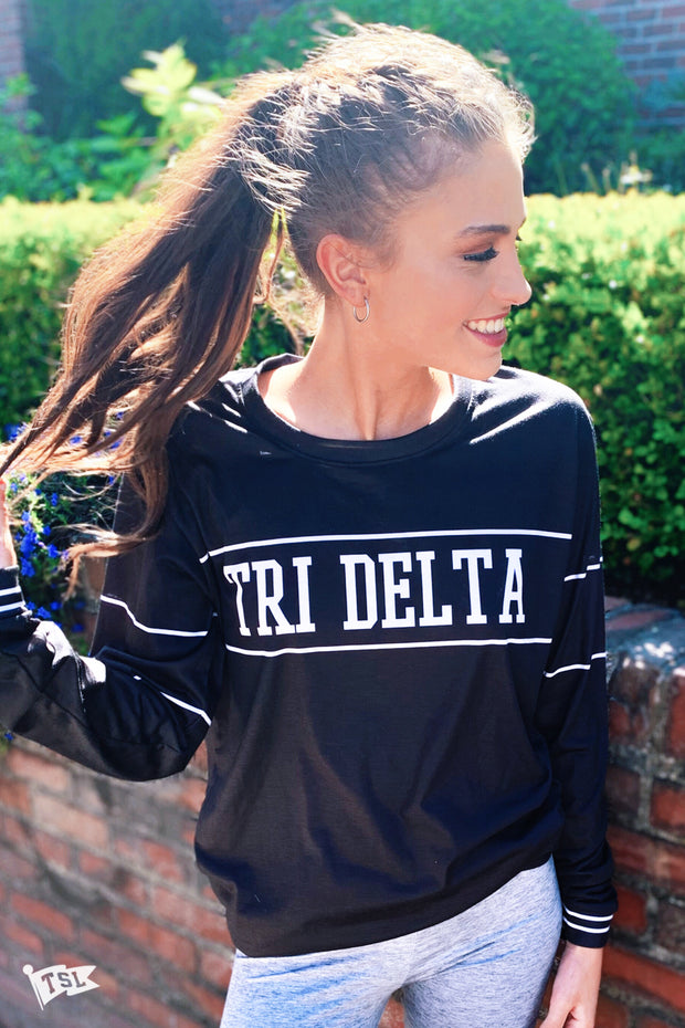Delta Delta Delta University Long Sleeve