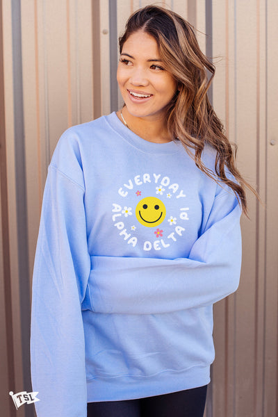 Alpha Delta Pi  Everyday Crewneck
