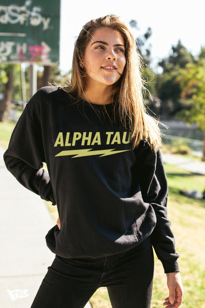 Alpha Sigma Tau Voltage Crewneck