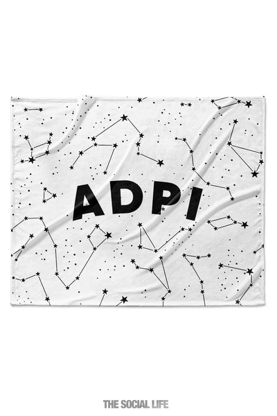 Alpha Delta Pi Constellation Blanket