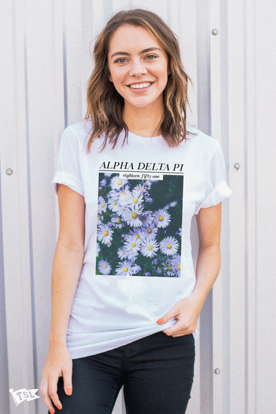 Alpha Delta Pi Feature Tee