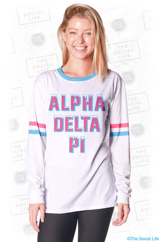 Alpha Delta Pi Frosted Long Sleeve