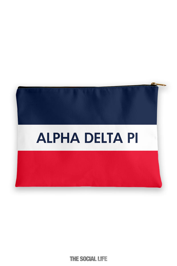 Alpha Delta Pi Merci Cosmetic Bag