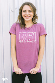 Alpha Delta Pi Yearbook Boyfriend Tee