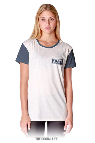 Alpha Delta Pi Hang Loose Scoop Tee