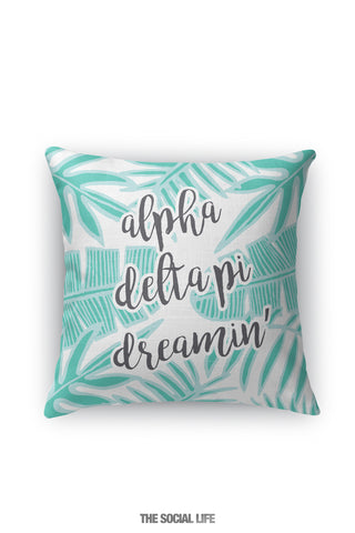 Alpha Delta Pi Dreamin' Pillow