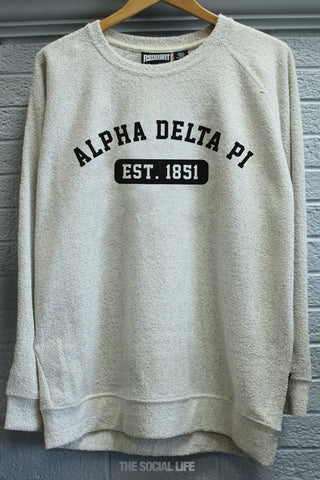 Alpha Delta Pi Poodle Fleece