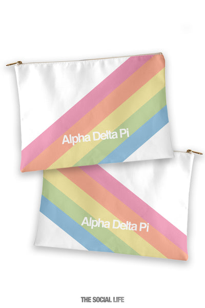 Alpha Delta Pi Prism Cosmetic Bag