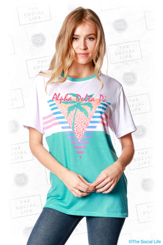 Alpha Delta Pi South Beach Tee