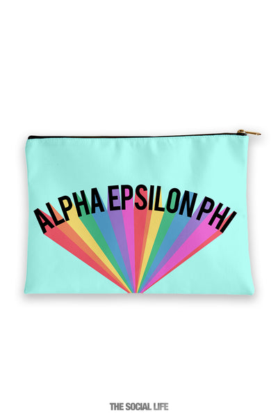 Alpha Epsilon Phi Colorblast Cosmetic Bag