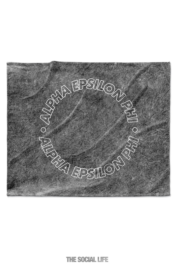Alpha Epsilon Phi Mineral Wash Blanket