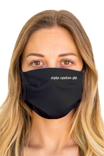 Alpha Epsilon Phi OG Mask (Anti-Microbial)