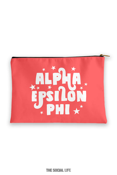 Alpha Epsilon Phi Pixie Cosmetic Bag
