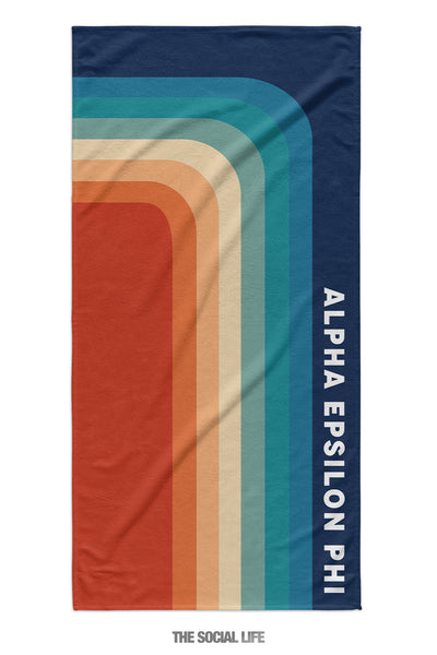 Alpha Epsilon Phi Far Out Towel