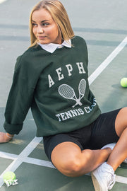 Alpha Epsilon Phi Tennis Club Crewneck