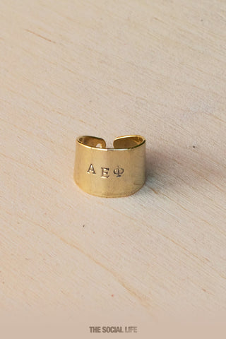 Alpha Epsilon Phi Custom Ring