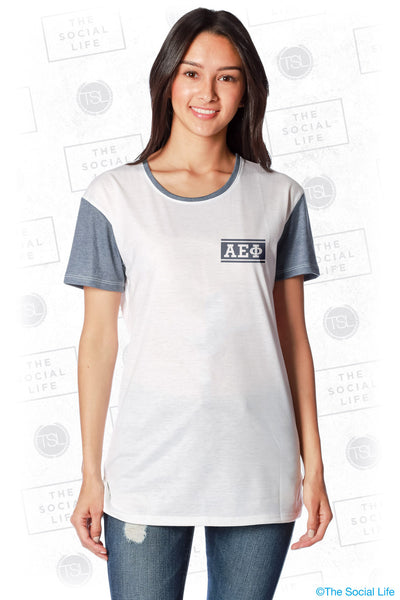 Alpha Epsilon Phi Hang Loose Scoop Tee