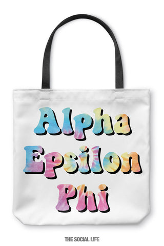 Alpha Epsilon Phi Hippie Tote Bag