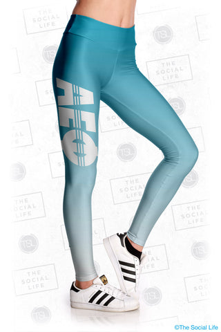Alpha Epsilon Phi Fade Leggings