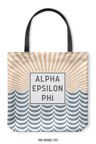 Alpha Epsilon Phi Sunshine Tote Bag