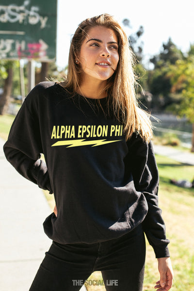 Alpha Epsilon Phi Voltage Crewneck