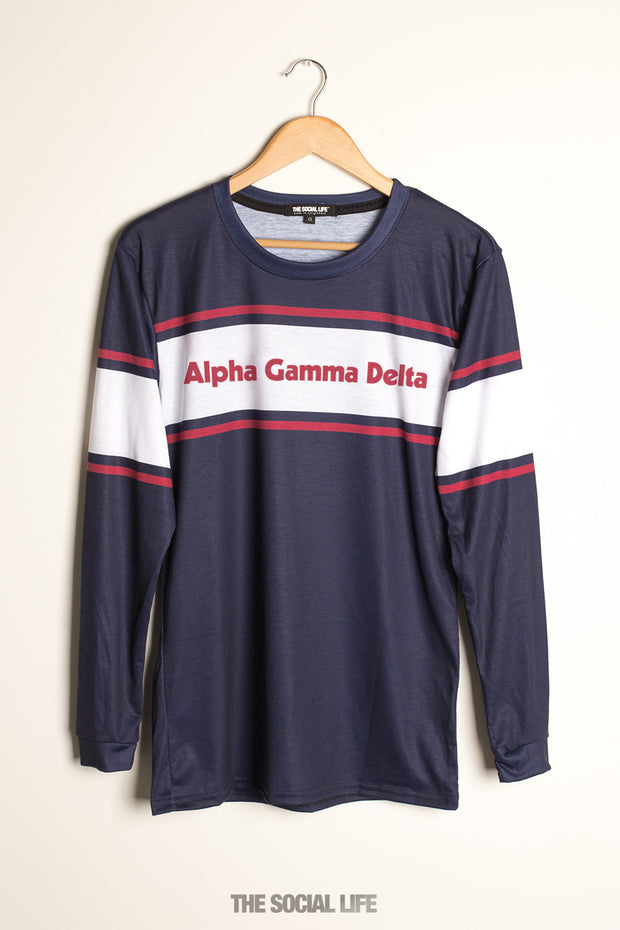 Alpha Gamma Delta City Long Sleeve