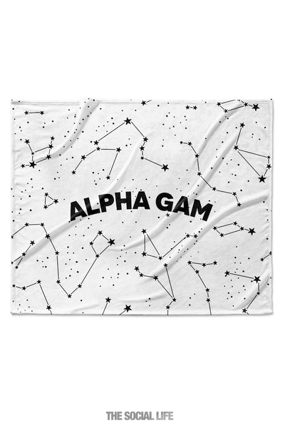 Alpha Gamma Delta Constellation Blanket