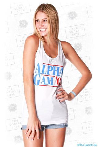 Alpha Gamma Delta Election Tank