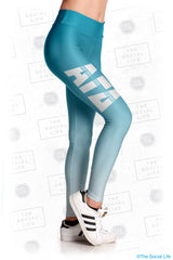 Alpha Gamma Delta Fade Leggings