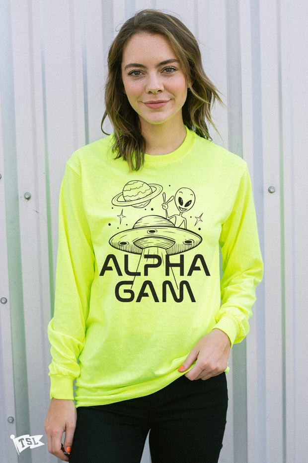 Alpha Gamma Delta Martian Long Sleeve