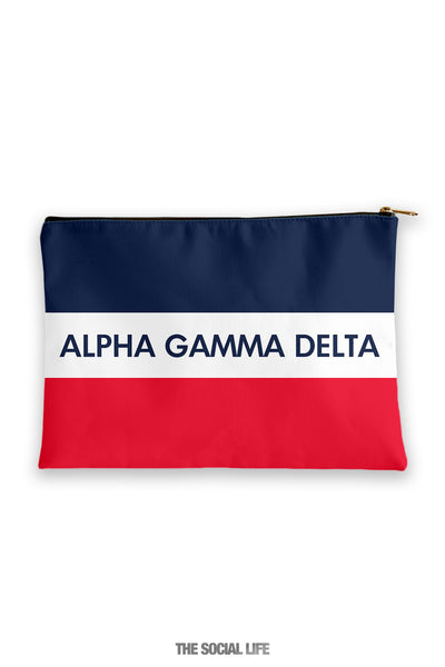 Alpha Gamma Delta Merci Cosmetic Bag
