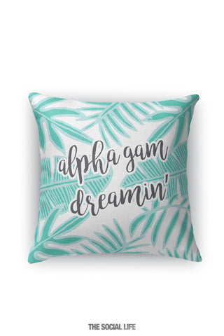 Alpha Gamma Delta Dreamin' Pillow