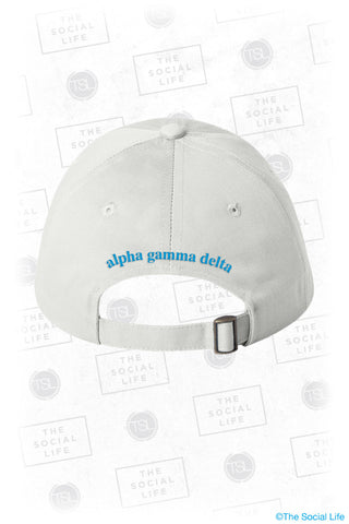 Alpha Gamma Delta Pineapple Dad Hat