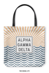 Alpha Gamma Delta Sunshine Tote Bag