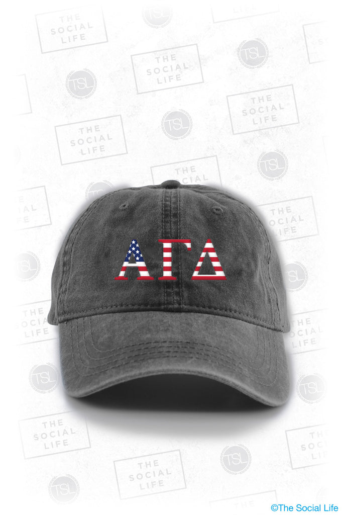 Alpha Gamma Delta Team USA Cap
