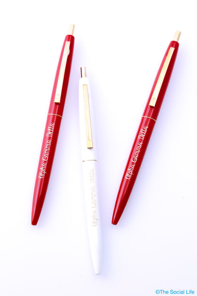 Alpha Gamma Delta Pen Pack