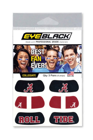 Alabama Classic Eye Black