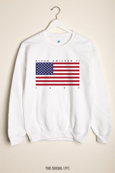 Alpha Omicron Pi Independence Crewneck