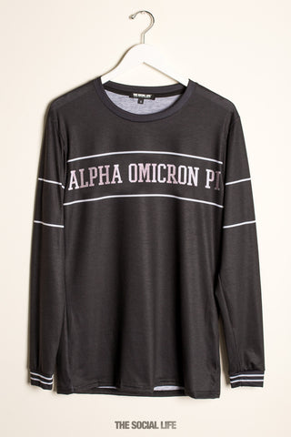 Alpha Omicron Pi University Long Sleeve