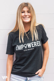 Alpha Omicron Pi Empowered Tee