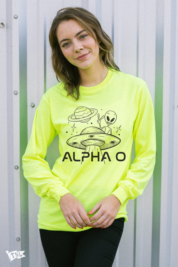 Alpha Omicron Pi Martian Long Sleeve