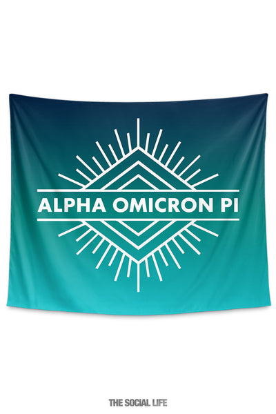 Alpha Omicron Pi Twilight Tapestry
