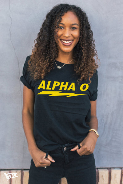 Alpha Omicron Pi Voltage Tee
