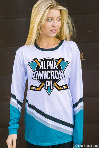 Alpha Omicron Pi Mighty Hockey Long Sleeve