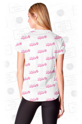 Alpha Omicron Pi Dollie Tee