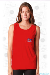 Alpha Omicron Pi USA Pocket Tank